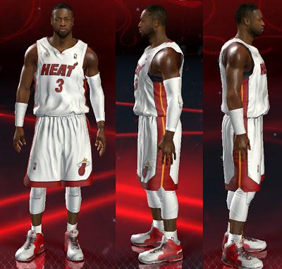 NBA 2K13 Dwyane Wade Cyber Face Update