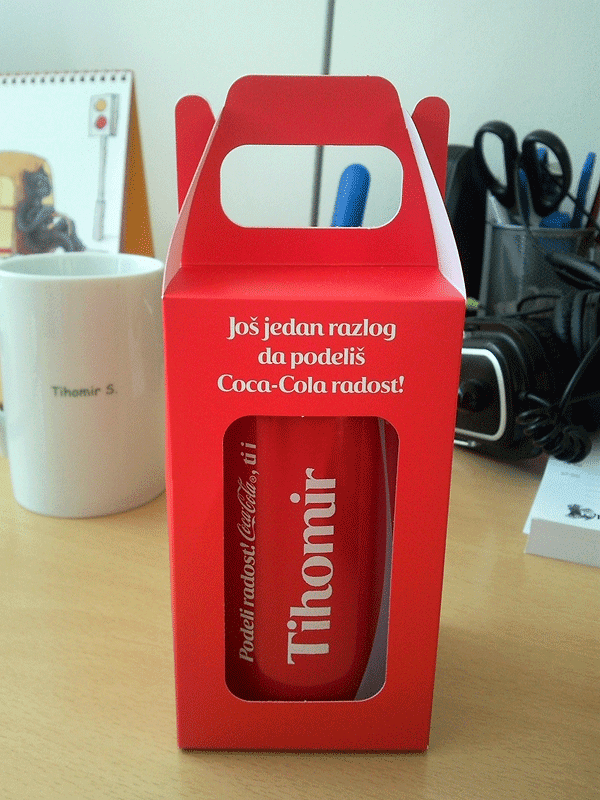 Personalizovana Coca-Cola limenka sa mojim imenom