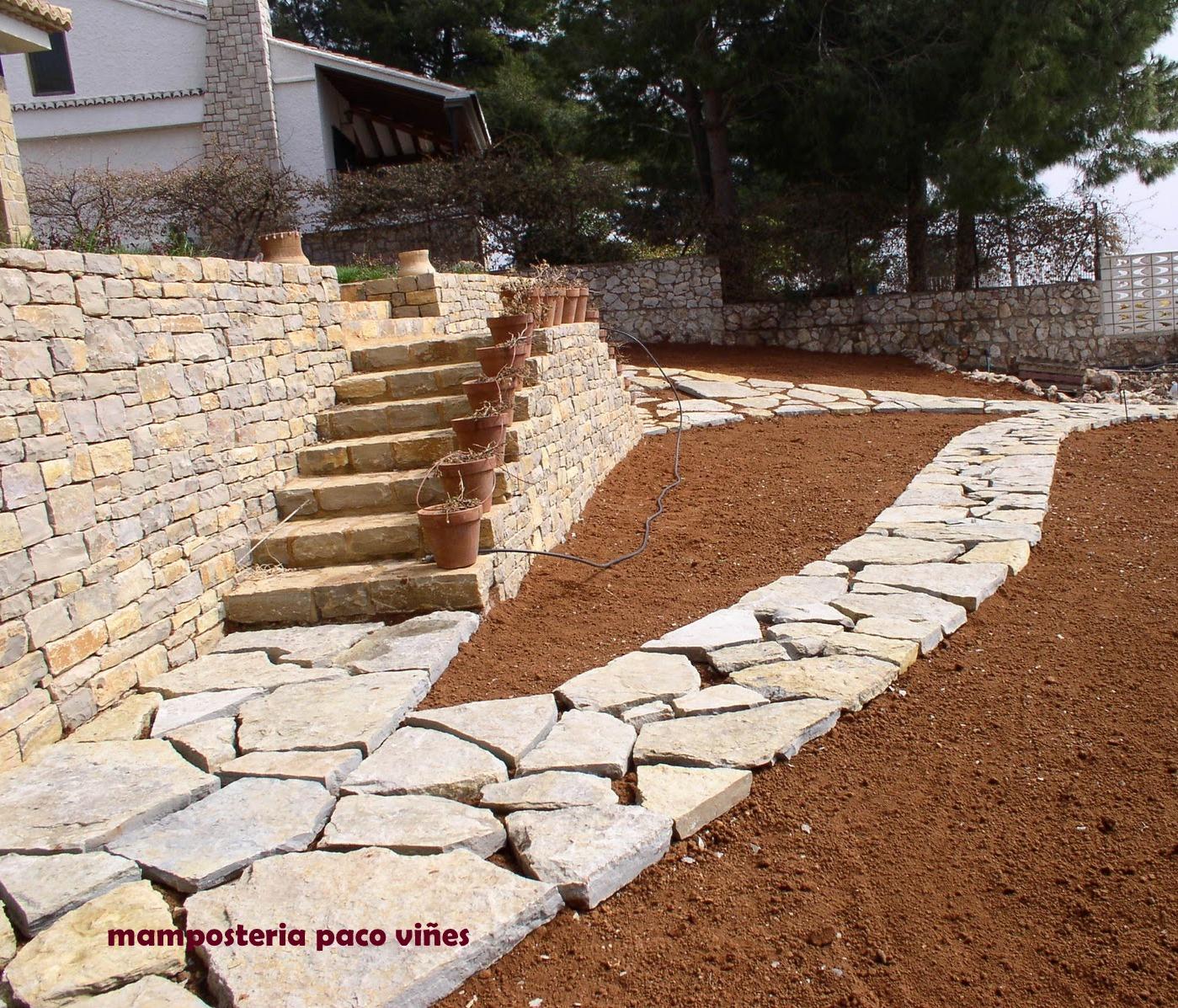 mamposteria paco vi es piedra para jardin