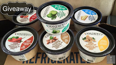 Opadipity, greek yogurt dip, litehouse products, giveaway