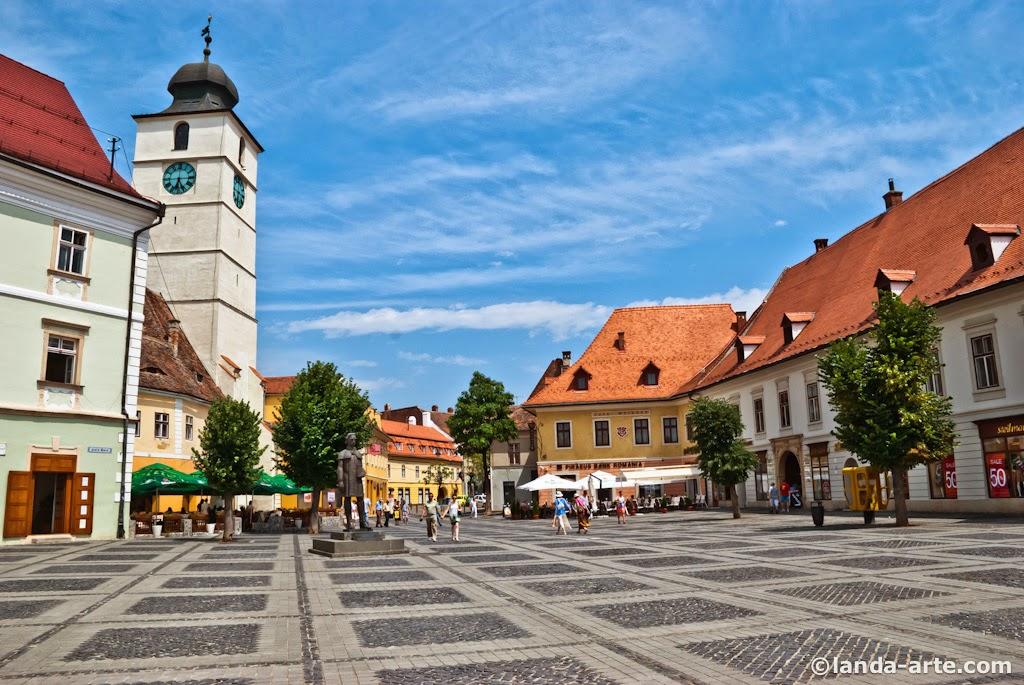 Plaza Mare de Sibiu