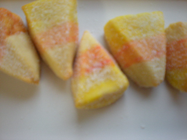 roommom27: Candy Corn Cookies