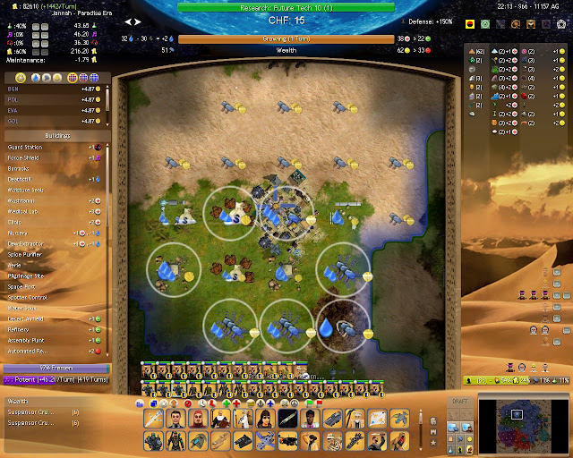 Civilization 4 Dune Wars - Terraformed City Description