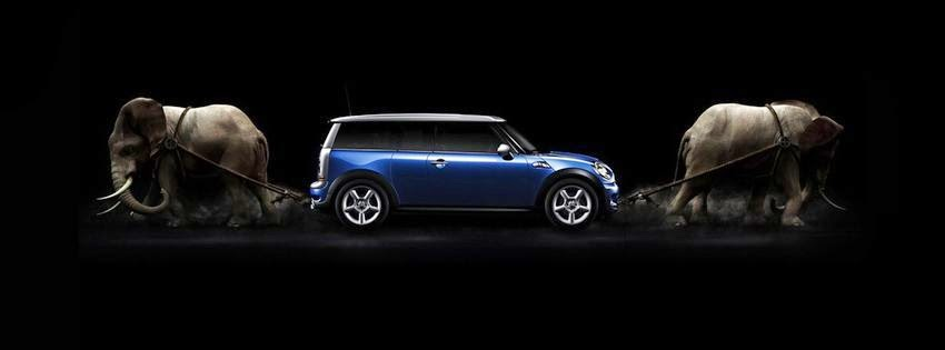 Photo de couverture facebook mini cooper