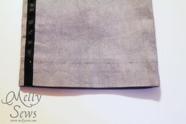 Blind Hem - Melly Sews - How to Hem Everything