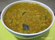 Chow Chow 1 No Onion 1 No Tomato 1 No Channa Dal / Tuvar dal 1/4 cup