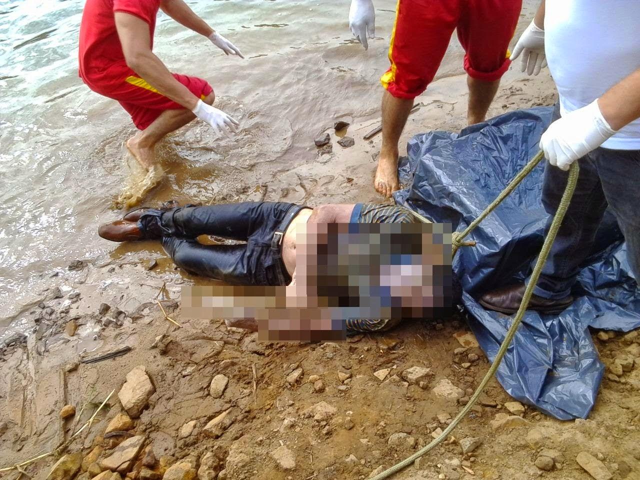 Carlão Maringá: Mecânico morreu afogado ao cair de barco no Porto  #732C1D 1280x960