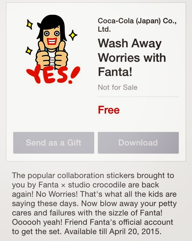 Wash Away Worries with Fanta! sticker