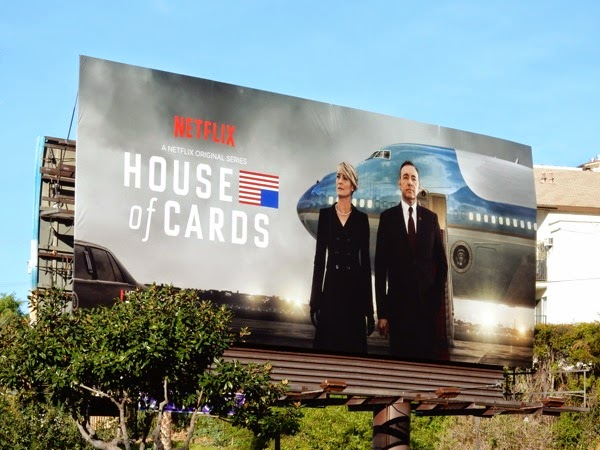 House of Cards season 3 Netflix billboard