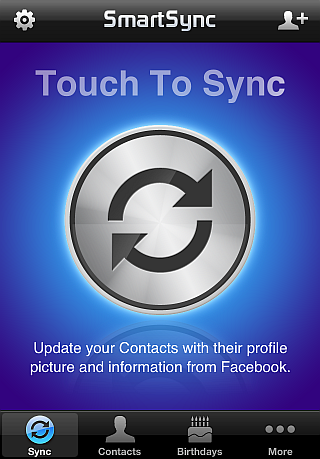 sync iphone contacts with facebook