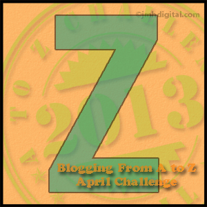 A to Z Challenge: Z