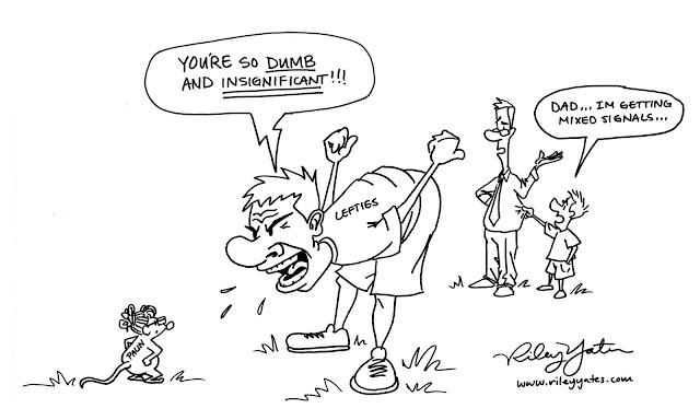 Sarah Palin cartoon, Liberal cartoon, Media Bias cartoon