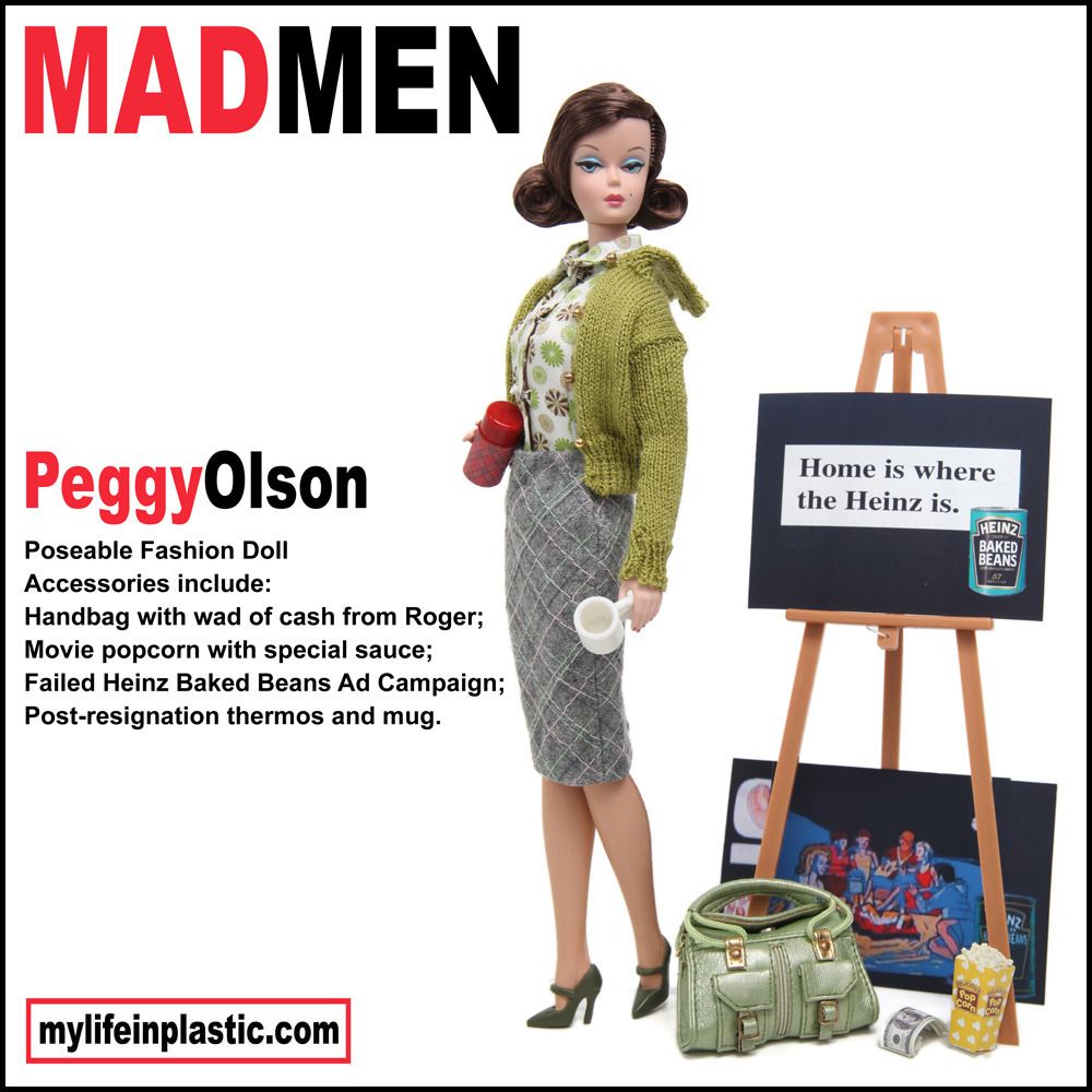 Mad Men Living Room Peggy