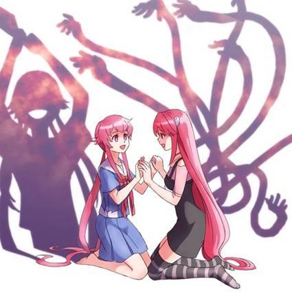 Mirai Nikki - Animé y Manga.