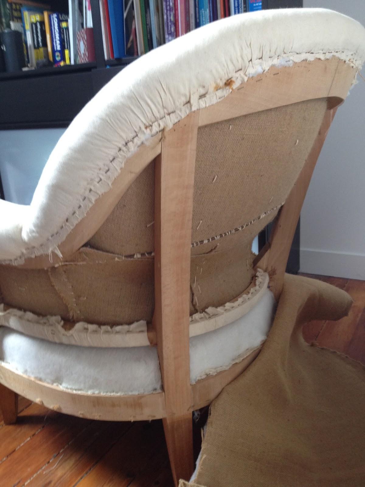 Id es d co - Comment recouvrir un fauteuil crapaud ...