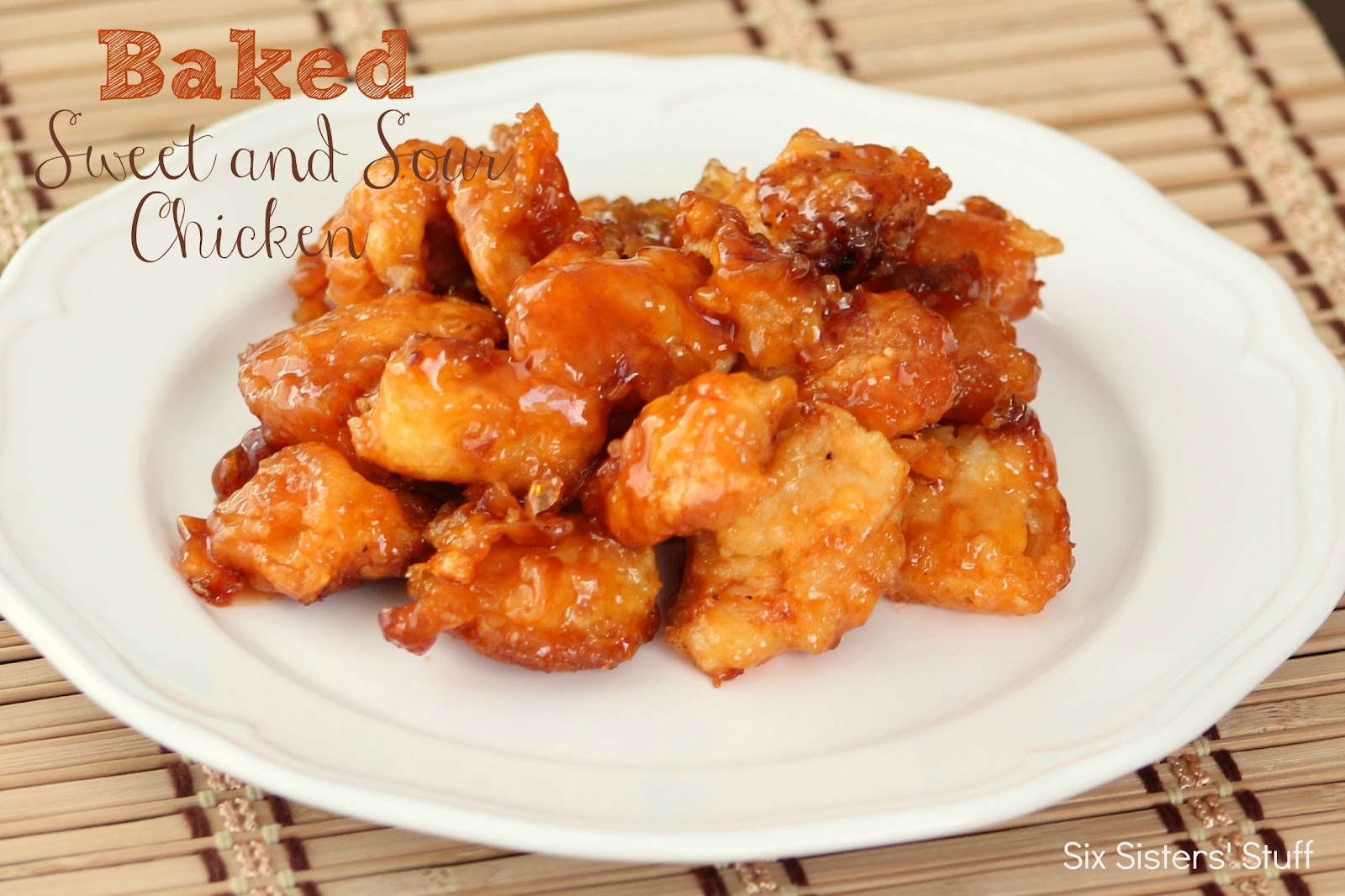 Baked sweet and sour chicken recipe six sisters stuff forumfinder Choice Image