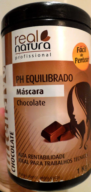 mascara chocolate real natura