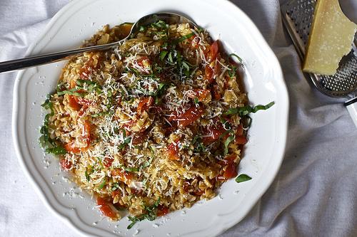 Farro with Tomatoes Recipe