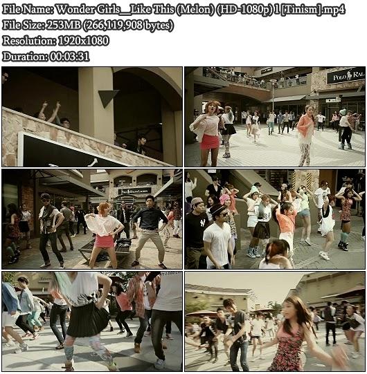 Download MV Wonder Girls - Like This (Melon Full HD 1080p)