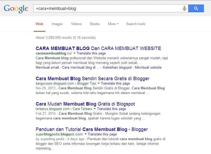Cara Agar Pencarian Google Lebih Akurat
