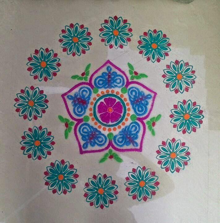 Yojna Kalaskar Kolam Designs 1