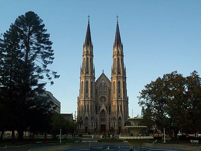Teoria e hist ria da arquitetura catedral de s o jo o batista for A mobilia santa cruz do sul