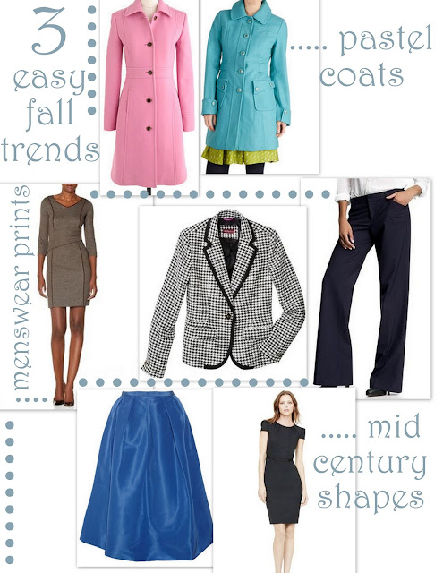 3 easy trends for fall