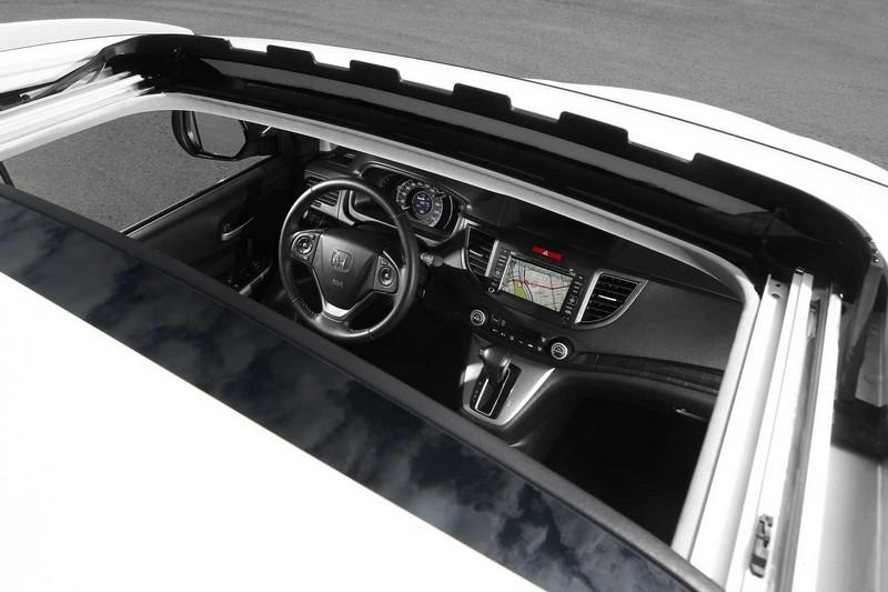 Nova Honda CR-V 2012/2013 teto solar