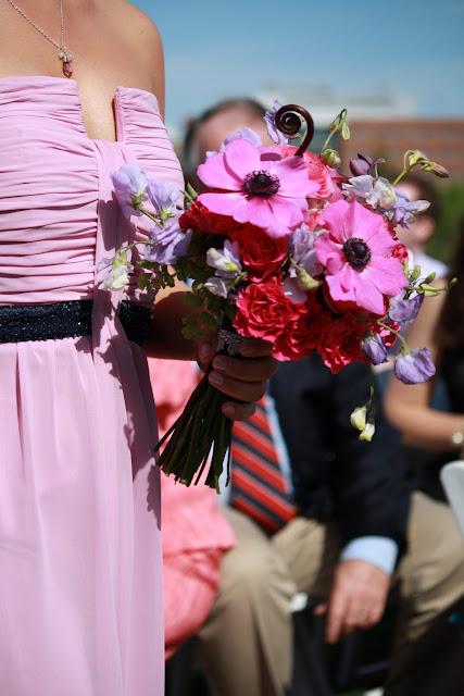 Pink Bridesmaid Bouquet - Splendid Stems Floral Designs
