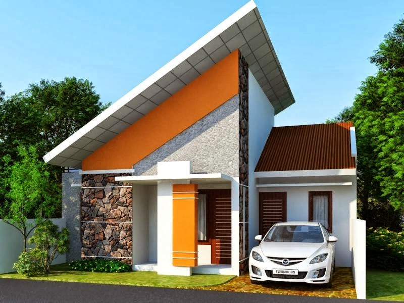 model rumah minimalis type 45 modern