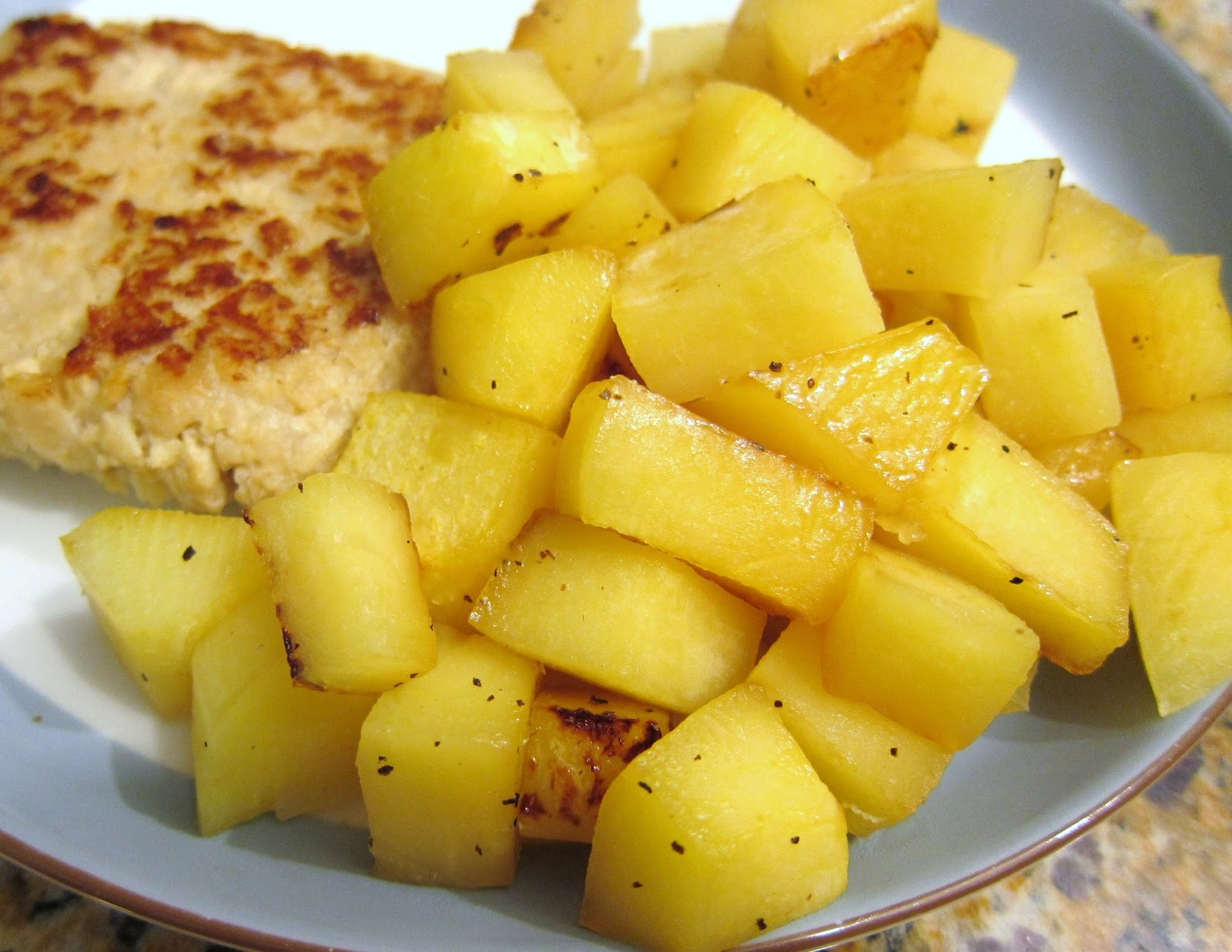 The Vegan Chronicle: Maple-Glazed Rutabaga