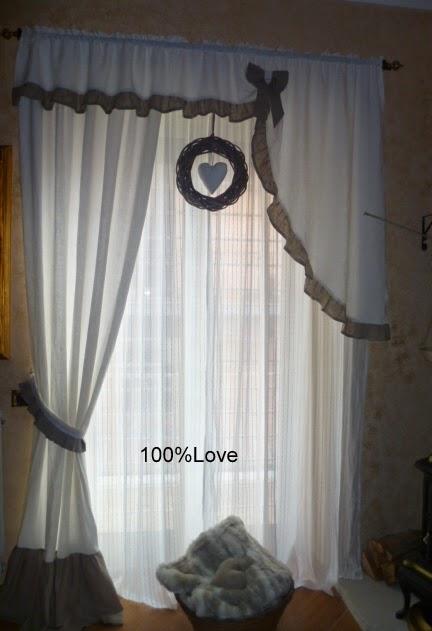 100%love: tenda del salotto - Tende Soggiorno 2014 2