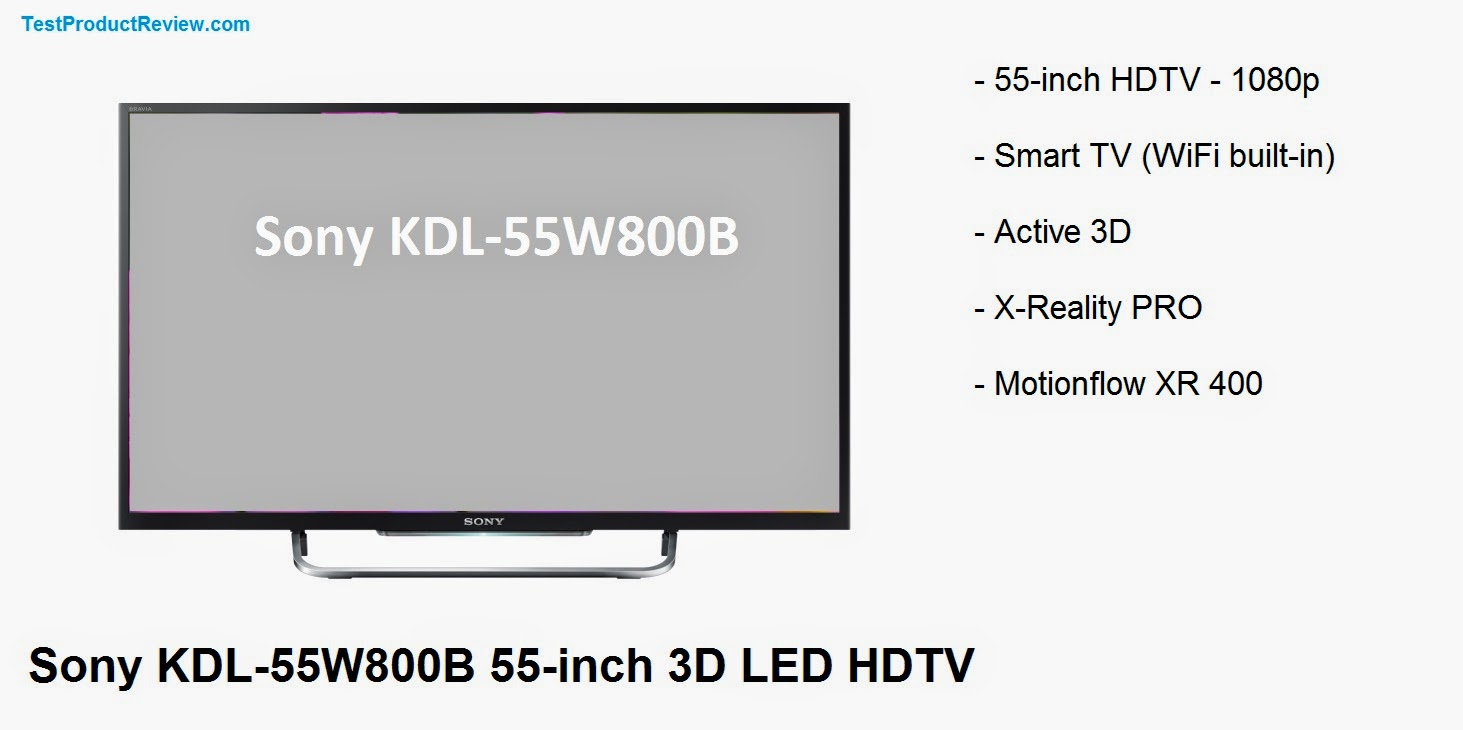Sony KDL-55W800B review