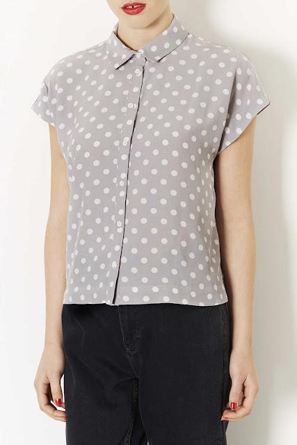short sleeve spot shirt
