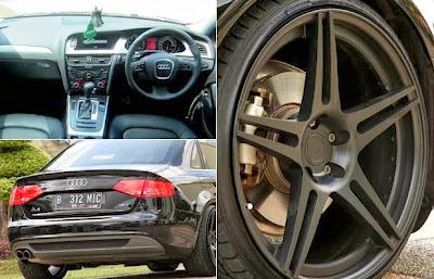 Modification Audi A4 2012