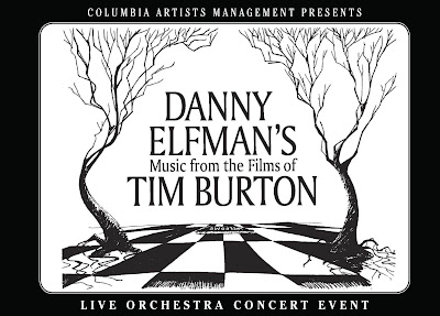 Danny Elfman's Music From The Films Of Tim Burton Postcard