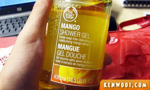 body shop mango shower gel 2