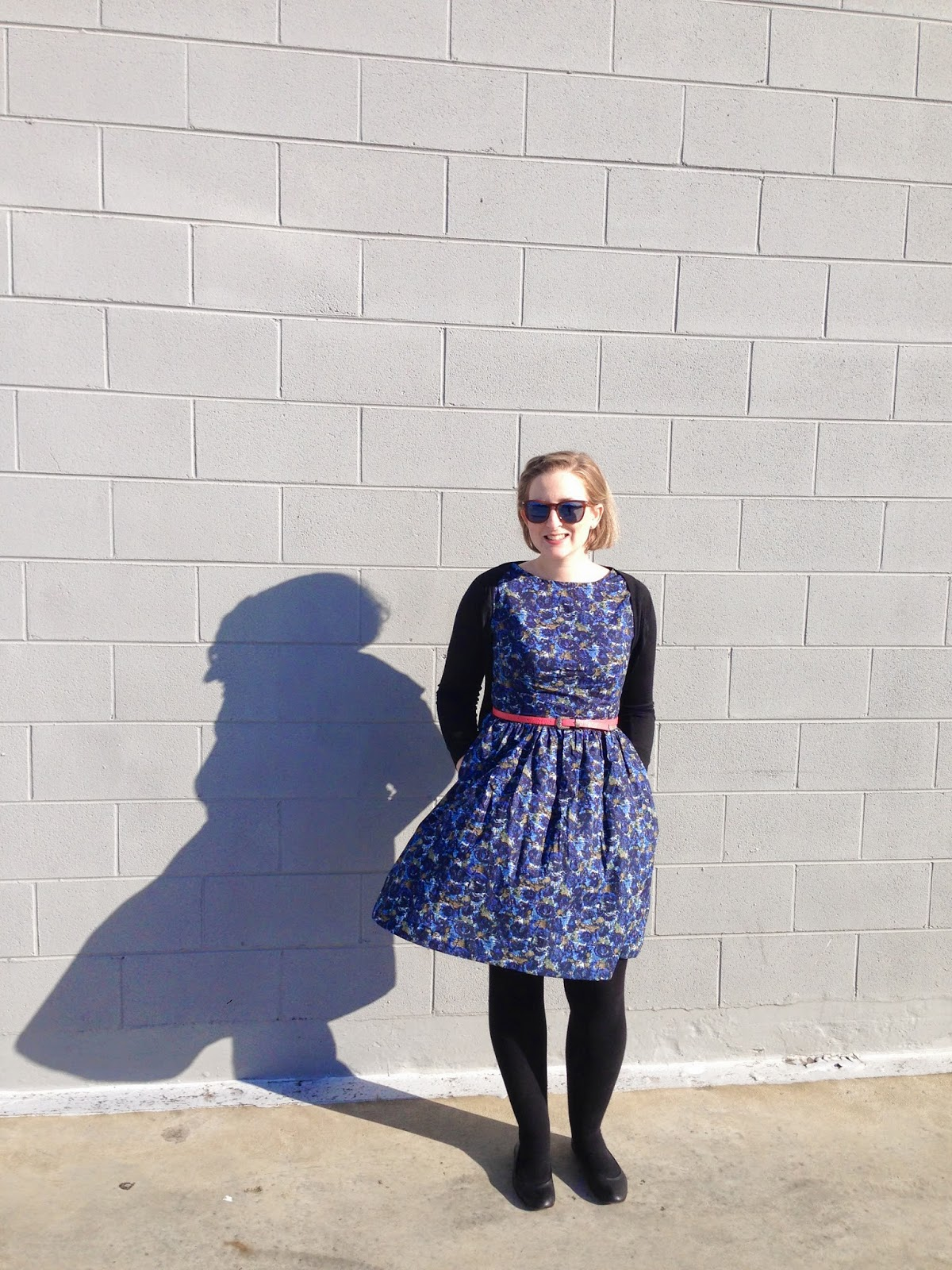 Navy Emery Dress
