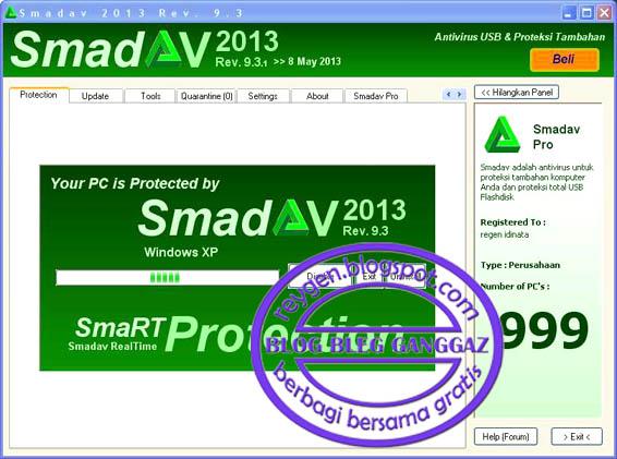 Free download Smadav 9.3.1 ~ BLOG BLEG GANGGAZ
