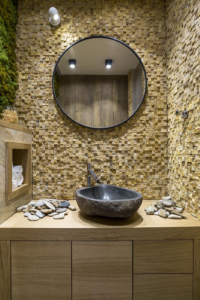 Дизайн ванной в экостиле