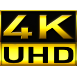 4K (Ultra HD) videos:
