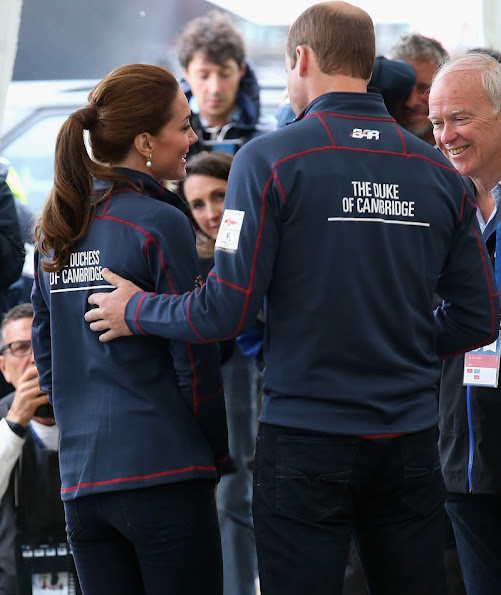 Catherine, Duchess of Cambridge, Royal Patron of the 1851 trust attend the America's Cup World Series