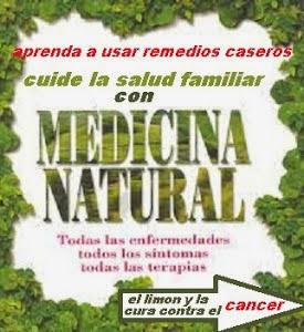 APRENDA A CURAR ENFERMEDADES DE MANERA NATURAL