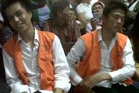 Foto Andika dan Izzy Kangen Band Di Penjara