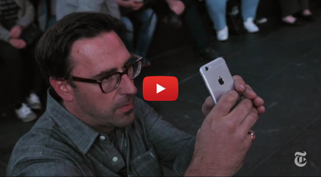 New York Times Photographer Test the Power of iPhone 6 Camera