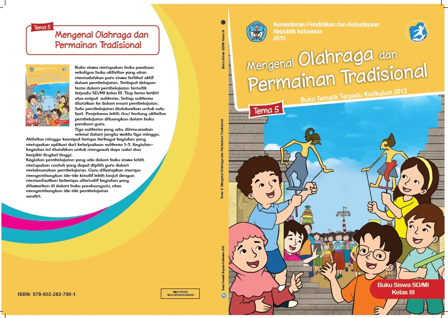 Download Buku Tematik Tema 5 Kelas 3 Kurikulum 2013