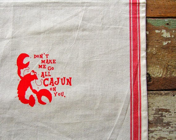 https://www.etsy.com/listing/154344392/cajun-crawfish-vintage-red-stripe-cotton