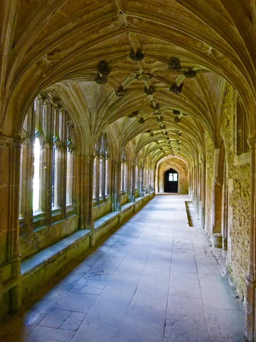 Cloisters, Lackock Abbey, Harry Potter, film locations, Britain
