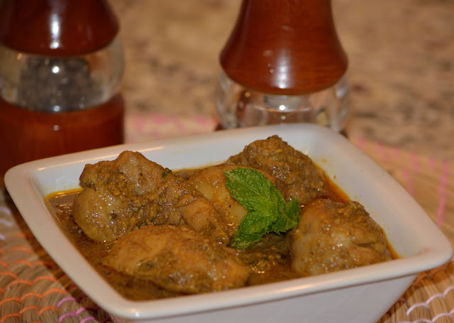 Asian Slow Cooking: Slow cooker Bengali Chicken Curry