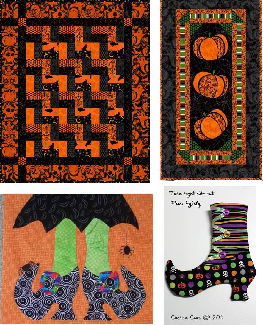 Halloween Quilting Ideas : Free Pattern Day: Halloween